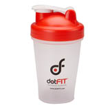 dotFIT Shaker Bottle - Red (20 oz)